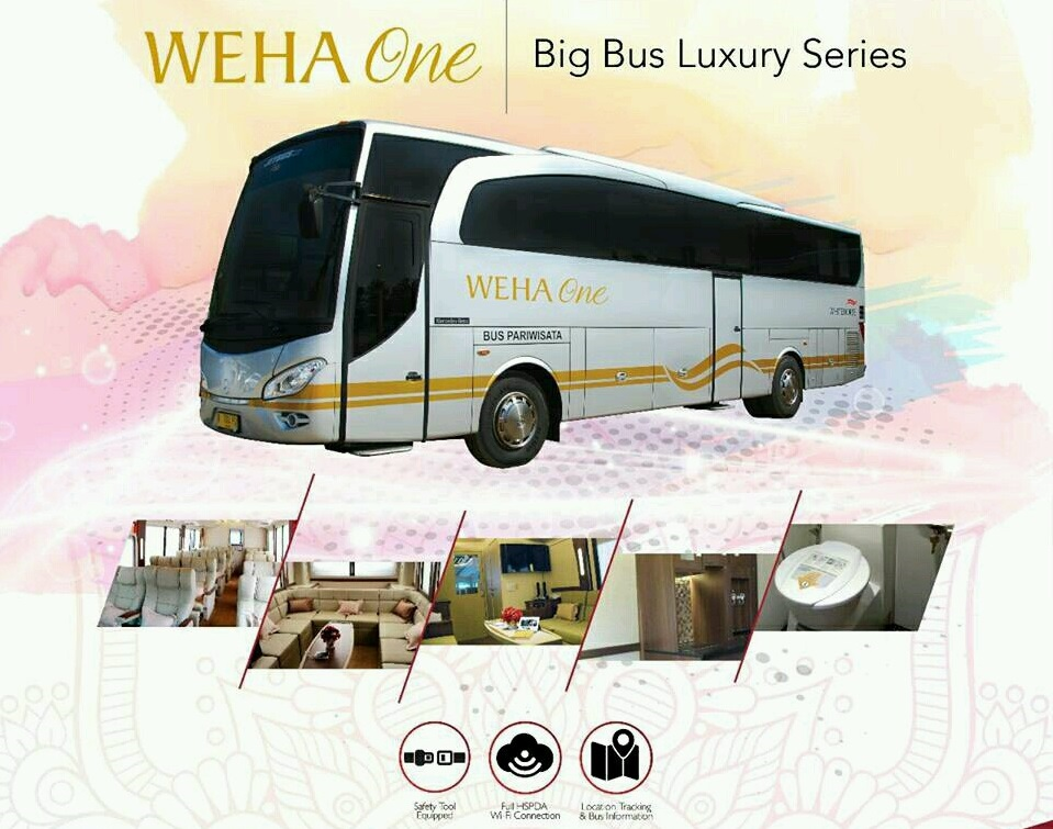 Luxury bus weha one