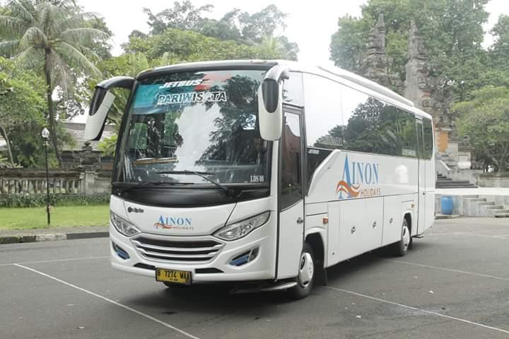 Medium Bus Pariwisata Ainon