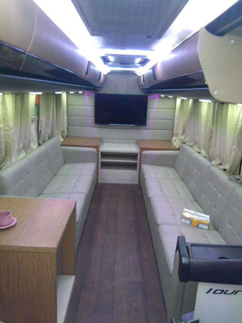 Luxury Medium Bus Interior