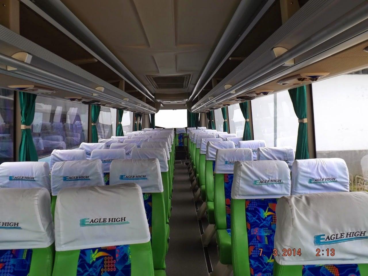 Bus Pariwisata 59 Seats Eagle High