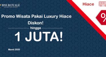 Promo Luxury Hiace