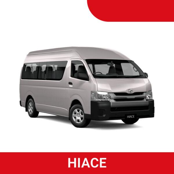 Promo Sewa Hiace